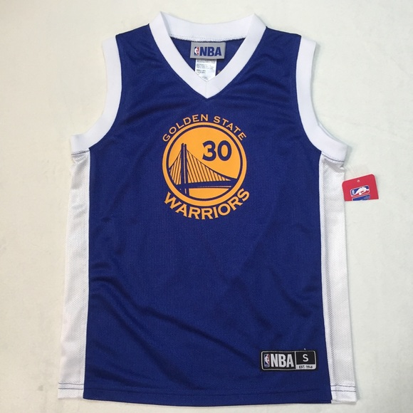 sports shoes fc600 0a3f5 Youth NWT NBA Golden State Stephen Curry Jersey NWT